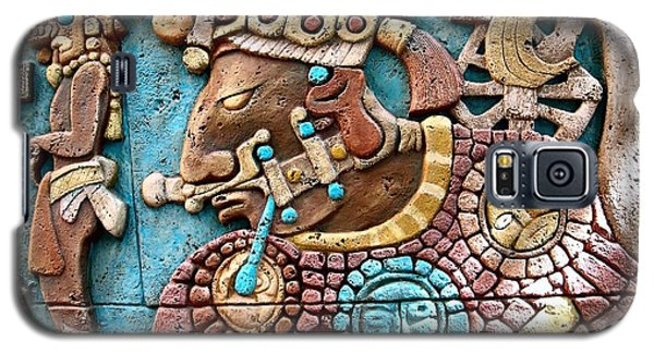 Epcot Mayan Warrior Galaxy S5 Case