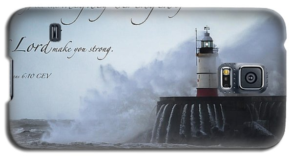 Ephesians 6 10 Galaxy S5 Case