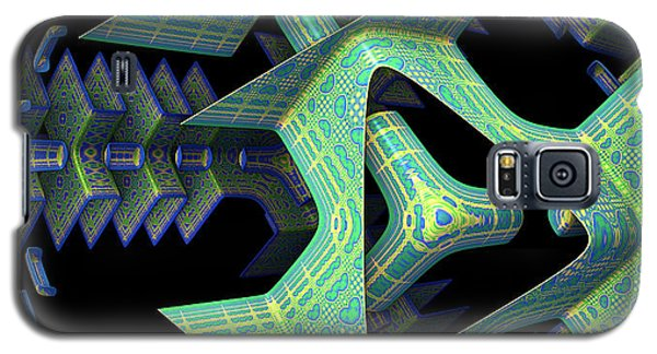 Galaxy S5 Case featuring the digital art Epic by Lyle Hatch
