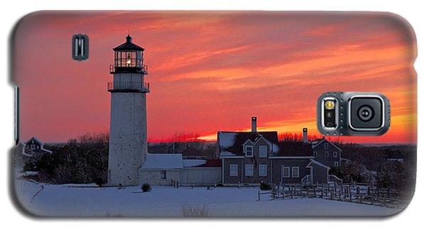 Epic Sunset At Highland Light Galaxy S5 Case