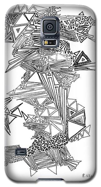 Epitaxy Ink Drawing By Regina Valluzzi Galaxy S5 Case