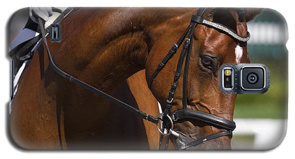 Galaxy S5 Case featuring the photograph Equestrian At Work D4913 by Wes and Dotty Weber