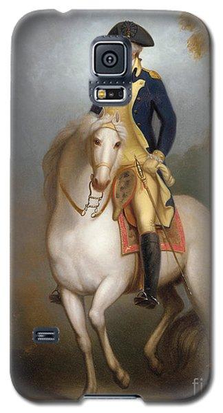 Equestrian Portrait Of George Washington Galaxy S5 Case