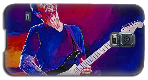 Galaxy S5 Case featuring the painting Eric Clapton - Crossroads by David Lloyd Glover