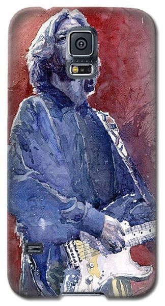 Eric Clapton 04 Galaxy S5 Case by Yuriy  Shevchuk