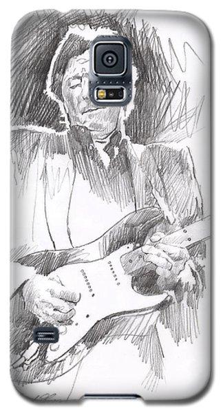 Eric Clapton Blackie Galaxy S5 Case by David Lloyd Glover