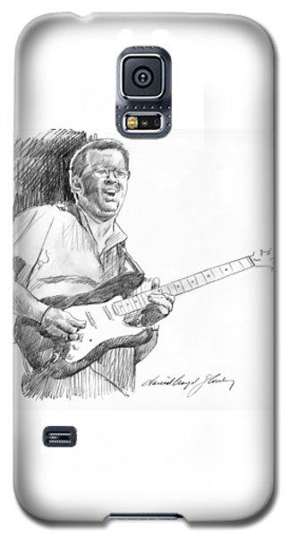 Eric Clapton Jam Galaxy S5 Case by David Lloyd Glover