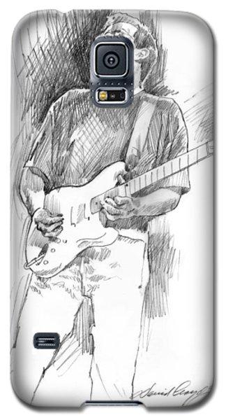 Eric Clapton Strat Galaxy S5 Case by David Lloyd Glover