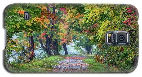 Erie Canal In Fall Galaxy S5 Case