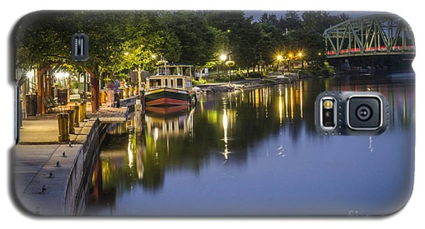 Erie Canal Shoreline Galaxy S5 Case