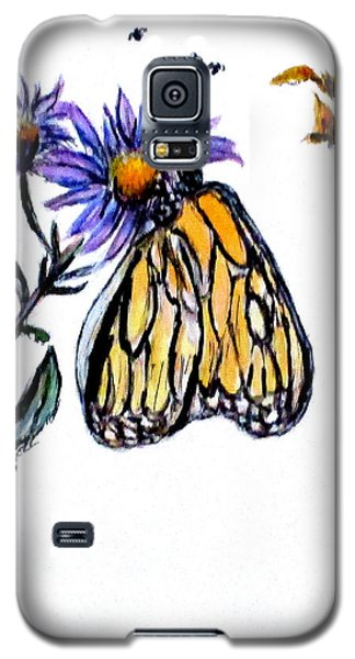 Erika's Butterfly One Galaxy S5 Case