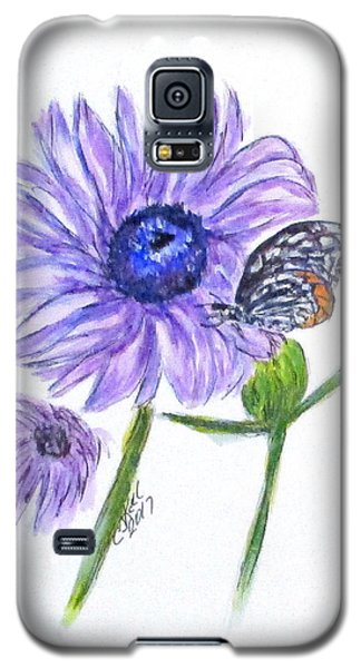Erika's Butterfly Three Galaxy S5 Case