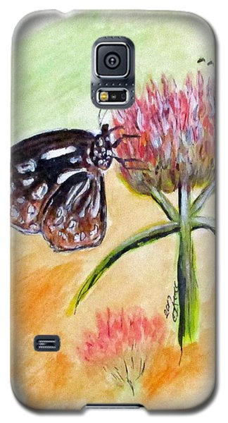 Erika's Butterfly Two Galaxy S5 Case
