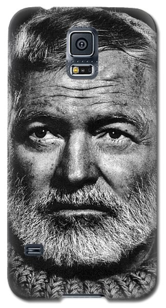 Ernest Hemingway Galaxy S5 Case by Daniel Hagerman