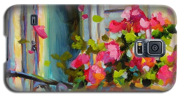 Galaxy S5 Case featuring the painting Escape To France by Chris Brandley