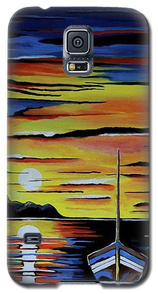 Escape To The Sea Galaxy S5 Case by Kathleen Sartoris