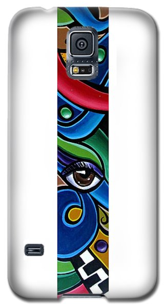 Escape To Venice - Abstract Art Painting, Modern Abstract Eye Art - Ai P. Nison Galaxy S5 Case