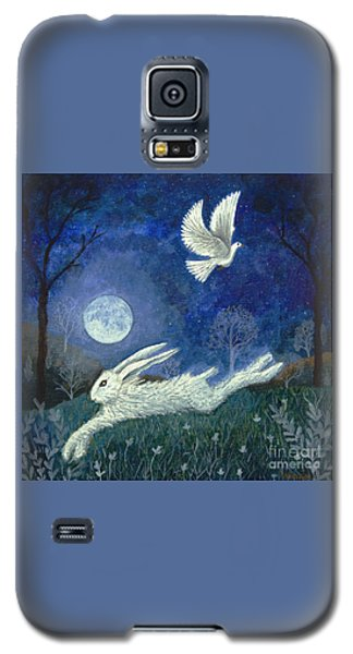 Escape With A Blessing Galaxy S5 Case by Lise Winne