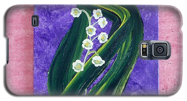 Escaping Winter Lilly Of The Valley Galaxy S5 Case