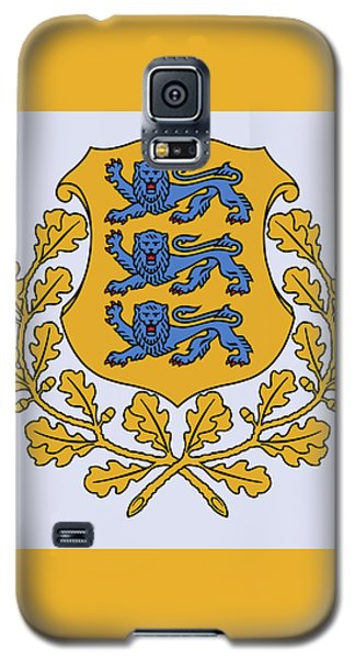 Estonia Coat Of Arms Galaxy S5 Case by Movie Poster Prints