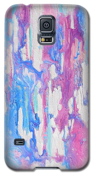Galaxy S5 Case featuring the mixed media Eternal Flow by Irene Hurdle