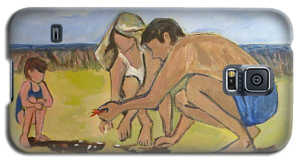 Galaxy S5 Case featuring the painting Eternal Offering by Betty Pieper