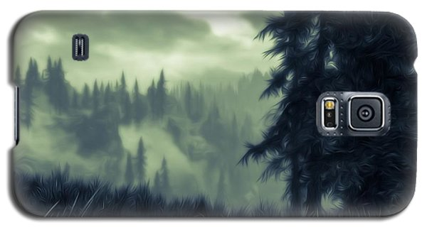 Eternal Shadow Falls  Galaxy S5 Case by Andrea Mazzocchetti