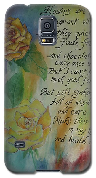 Galaxy S5 Case featuring the painting Eternity by Miriam Leah
