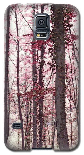 Ethereal Austrian Forest In Marsala Burgundy Wine Galaxy S5 Case by Brooke T Ryan