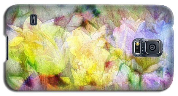 Ethereal Flowers Galaxy S5 Case