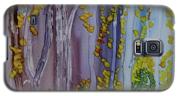 Galaxy S5 Case featuring the painting Ethereal Forest by Suzanne Canner