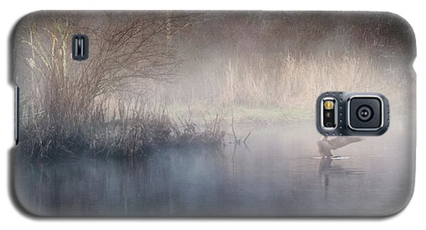 Galaxy S5 Case featuring the photograph Ethereal Goose by Bill Wakeley