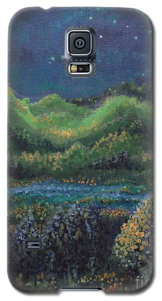Galaxy S5 Case featuring the painting Ethereal Reality by Holly Carmichael