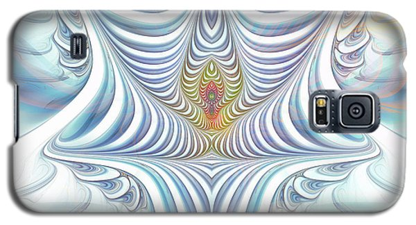 Galaxy S5 Case featuring the digital art Ethereal Treasure by Jutta Maria Pusl