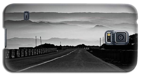 Galaxy S5 Case featuring the photograph Etna Road by Bruno Spagnolo