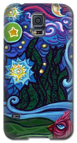Etoile Noire Bleu Galaxy S5 Case by Genevieve Esson