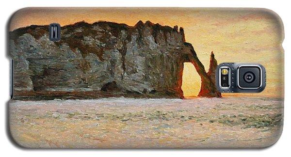 Etretat, Sunset  Galaxy S5 Case