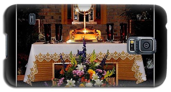 Eucharist I Am The Bread Of Life Galaxy S5 Case