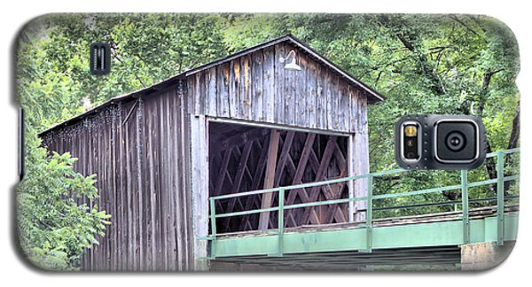 Euharlee Creek Covered Bridge Galaxy S5 Case