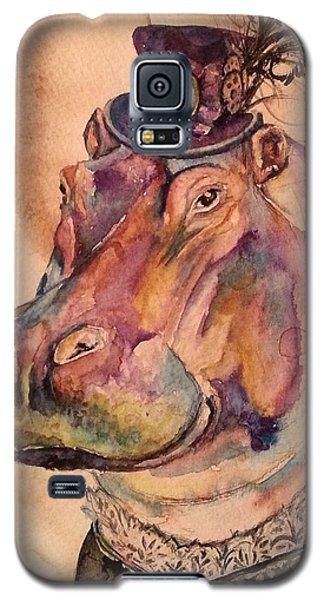 Eunice Hippo Galaxy S5 Case