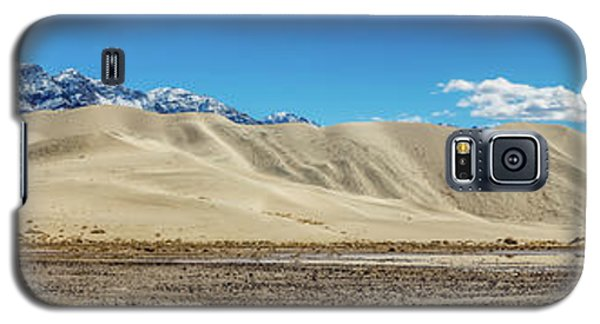 Galaxy S5 Case featuring the photograph Eureka Dunes - Death Valley by Peter Tellone