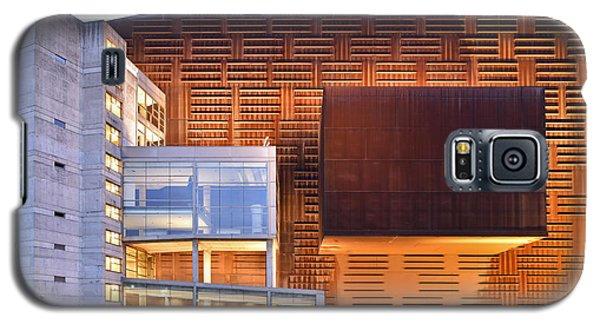 Galaxy S5 Case featuring the photograph Euskalduna Center Bilbao Spain by Marek Stepan