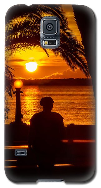 Galaxy S5 Case featuring the photograph Eustis Sunset by Christopher Holmes