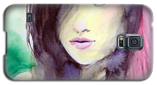 Galaxy S5 Case featuring the painting Olivia by Ed  Heaton