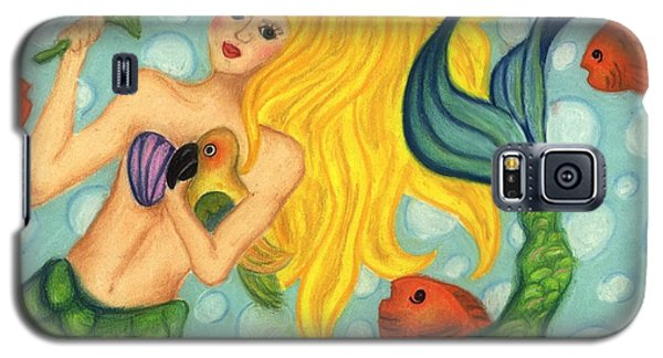Eve The Mermaid Galaxy S5 Case