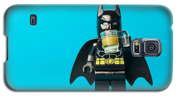 Bat Galaxy S5 Case - Even Batman Needs A Beer by Samuel Whitton