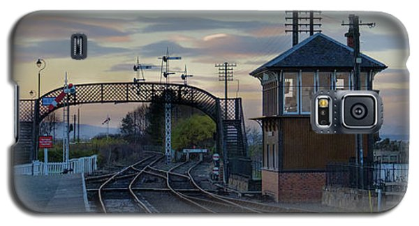 Evening At Bo'ness Station Galaxy S5 Case