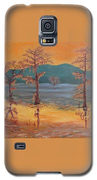 Evening On Caddo Lake Galaxy S5 Case