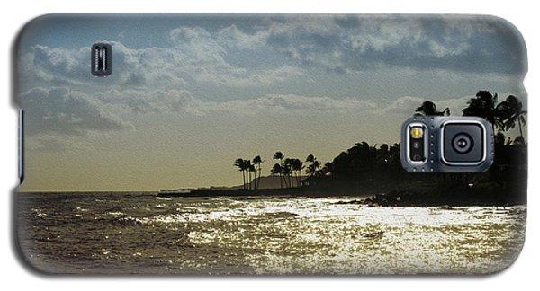 Evening At Poipiu Kauai Galaxy S5 Case