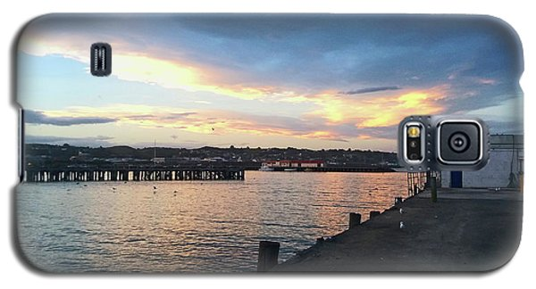 Galaxy S5 Case featuring the photograph Evening At The Bay by Nareeta Martin